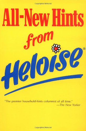 All-New Hints from Heloise   1989 (Revised) 9780399515101 Front Cover