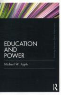 Education and Power   2011 9780415808101 Front Cover
