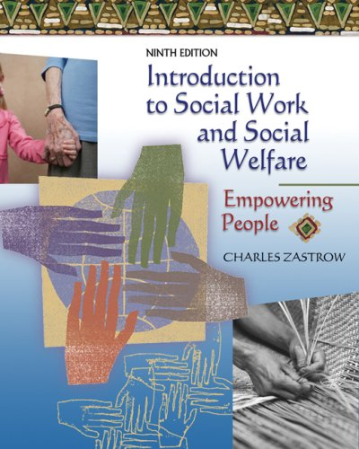 Introduction to Social Work and Social Welfare Empower People 9th 2008 (Revised) edition cover