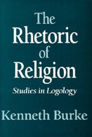 Rhetoric of Religion Studies in Logology  1970 edition cover