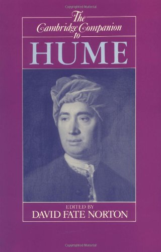 Cambridge Companion to Hume   1993 edition cover