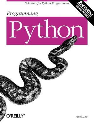 Programming Python  4th 2010 edition cover