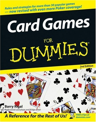 Card Games for Dummies�  2nd 2005 (Revised) edition cover