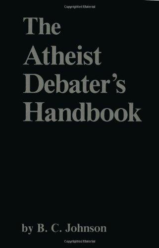 Atheist Debater's Handbook  N/A 9780879752101 Front Cover