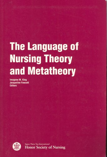 Language of Nursing Theory and Metatheory 1st edition cover