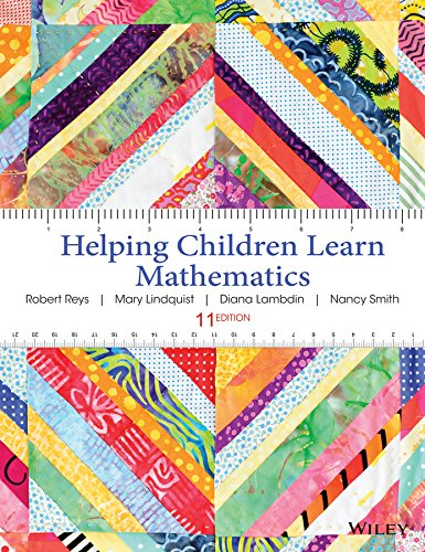 Helping Children Learn Mathematics  11th 2015 9781118654101 Front Cover