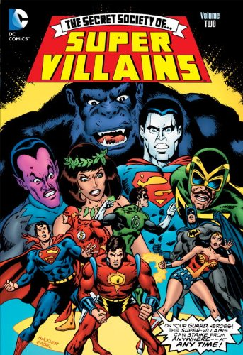 Secret Society of... Super Villains   2012 9781401231101 Front Cover