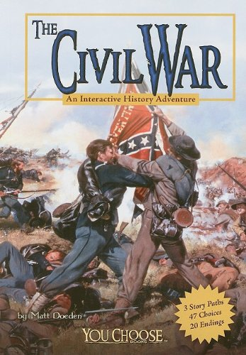 Civil War An Interactive History Adventure  2009 edition cover