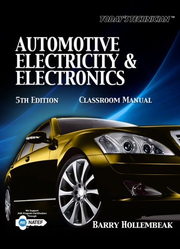 Automotive Electricity and Electronics  5th 2011 edition cover