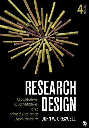 Research Design Qualitative, Quantitative, and Mixed Methods Approaches 4th 2014 edition cover