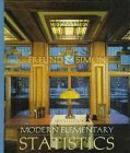 Modern Elementary Statistics  9th 1997 9780132070102 Front Cover