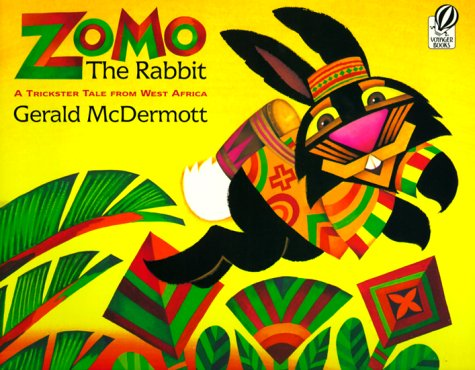 Zomo the Rabbit A Trickster Tale from West Africa  1992 (Abridged) edition cover