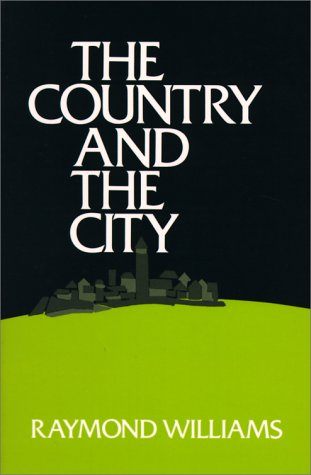 Country and the City   1975 (Reprint) edition cover