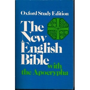 New English Bible With the Apocrypha N/A edition cover