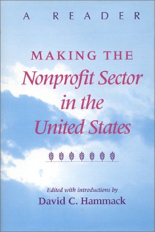 Making the Nonprofit Sector in the United States A Reader  1998 edition cover