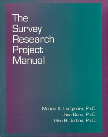 Survey Research Project Manual  1st 9780314061102 Front Cover