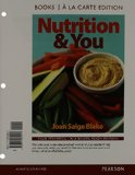 Nutrition and You, Books a la Carte Plus MasteringNutrition with MyDietAnalysis with EText -- Access Card Package  3rd 2015 edition cover