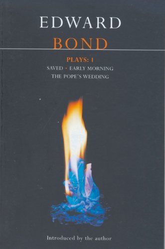 Bond Plays: 1 Saved, Early Morning, the Pope's Wedding  1977 (Revised) edition cover