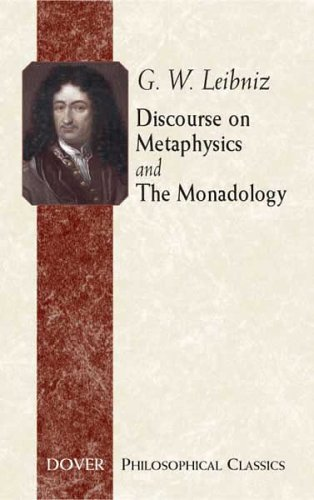 Discourse on Metaphysics and the Monadology   2005 edition cover