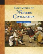Documents of Western Civilization to 1715  6th 2006 edition cover