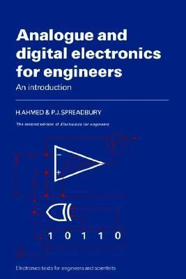 Analogue and Digital Electronics for Engineers An Introduction 2nd 1984 (Revised) 9780521319102 Front Cover