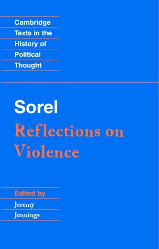 Sorel Reflections on Violence  1999 edition cover