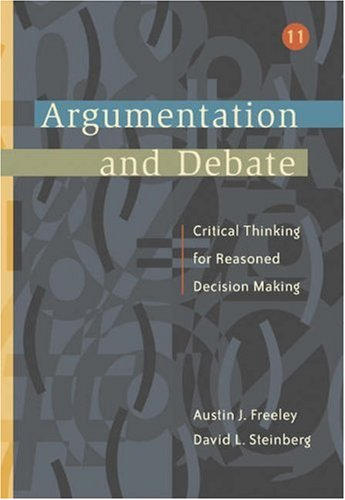Argumentation and Debate  11th 2005 (Revised) 9780534515102 Front Cover
