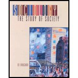Sociology : Study of Society N/A 9780536607102 Front Cover