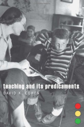 Teaching and Its Predicaments   2011 edition cover