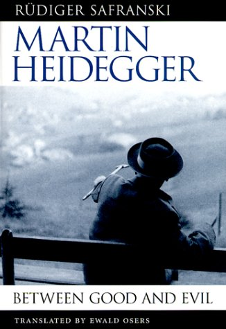 Martin Heidegger Between Good and Evil  1998 edition cover