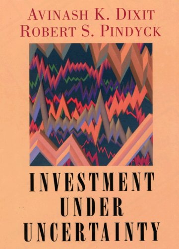 Investment Under Uncertainty   1994 edition cover