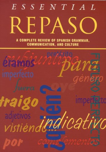 Essential Repaso A Complete Review of Spanish Grammar, Communication, and Culture  1998 edition cover