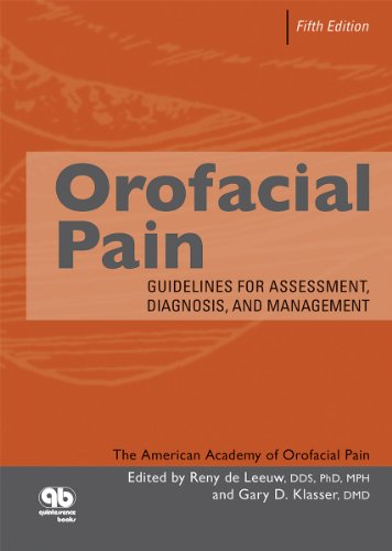 Orofacial Pain: Guidelines for Assessment, Diagnosis, and Management  2013 edition cover