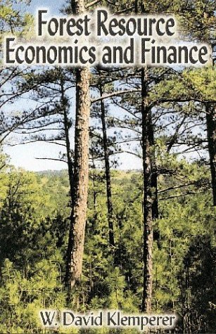 Forest Resource Economics and Finance   1996 edition cover