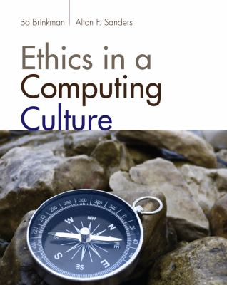 Ethics in a Computing Culture   2013 edition cover