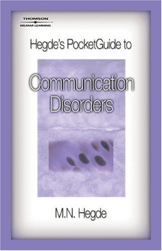 Communication Disorders   2008 edition cover