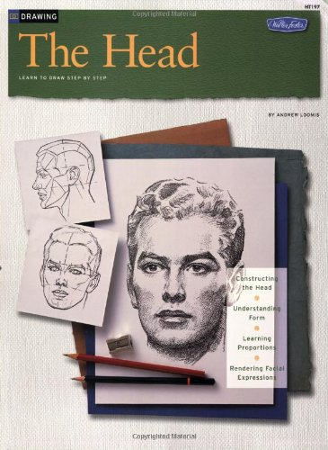 Drawing the Head  N/A 9781560100102 Front Cover