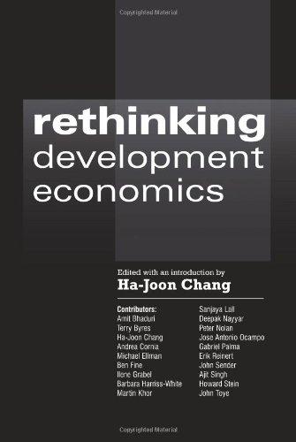 Rethinking Development Economics   2003 edition cover