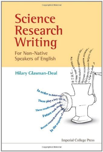 Science Research Writing A Guide for Non-Native Speakers of English  2009 edition cover