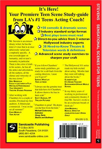 Sensational Scenes for Teens : The Scene Study-Guide for Teen Actors! 1st 2001 edition cover