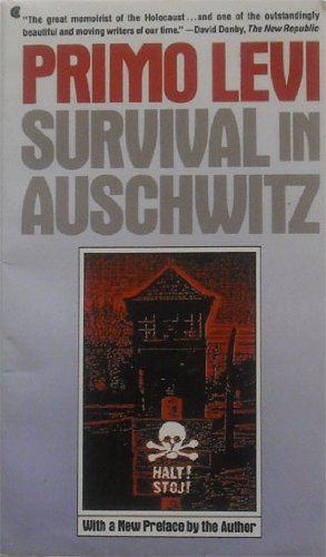 Survival in Auschwitz  N/A edition cover