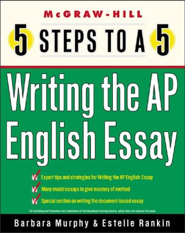 Writing the AP English Essay   2004 9780071411103 Front Cover