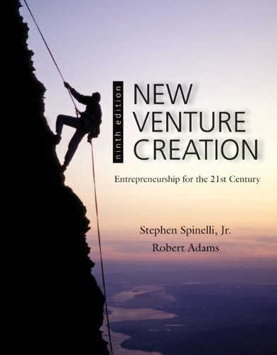 New Venture Creation Entrepreneurship for the 21st Century 9th 2012 edition cover