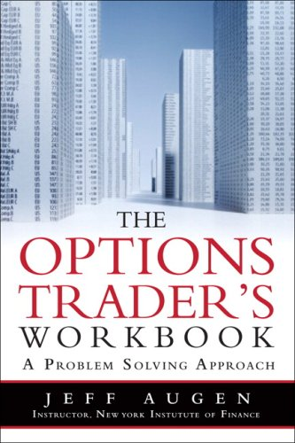 Option Trader's A Problem-Solving Approach  2009 (Workbook) edition cover