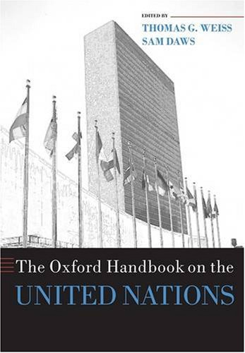 Oxford Handbook on the United Nations   2008 edition cover