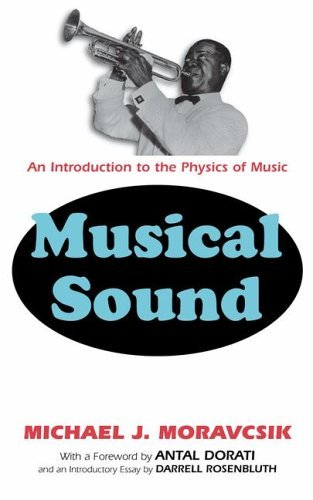 Musical Sound An Introduction to the Physics of Music  2002 9780306467103 Front Cover