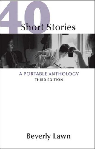 40 Short Stories A Portable Anthology 3rd edition cover