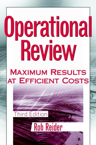 Operational Review Maximum Results at Efficient Costs 3rd 2002 (Revised) 9780471228103 Front Cover