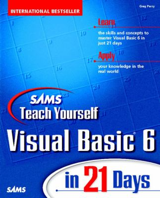 Sams Teach Yourself Visual Basic 6 in 21 Days   1998 9780672313103 Front Cover
