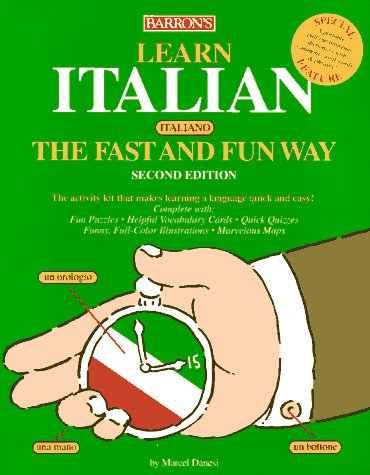 Learn Italian the Fast and Fun Way Book 2nd 1997 edition cover